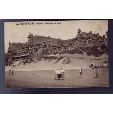 Carte postale 62 - Berck-Plage - Institut St-Francois de Sales - Voyage - Dos divise
