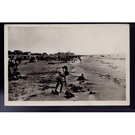 Carte postale 62 - Berck-Plage - La plage cote Sud - Voyage - Dos divise