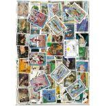 Briefmarkenensammlung Quote gestempelte D Elfenbein