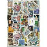 Stamp collection Ivory Coast used
