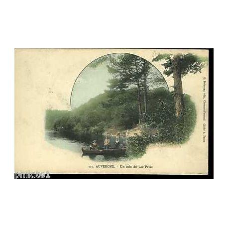 Carte postale 63 - Auvergne - Un coin du lac pavin