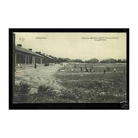 Carte postale 63 - Camp de Bourg-Lastic - Vue generale