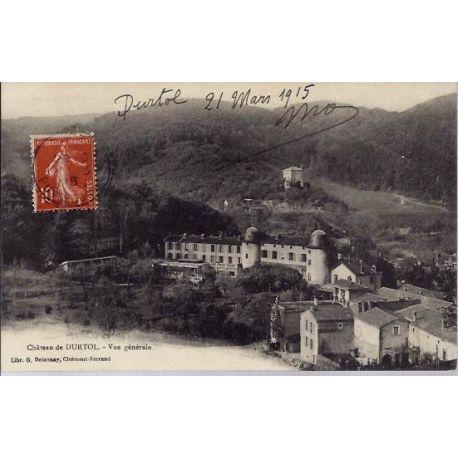 Carte postale 63 - Chateau de Durtol - Vue generale
