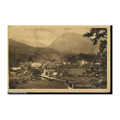 Carte postale 64 - Arette - vue generale