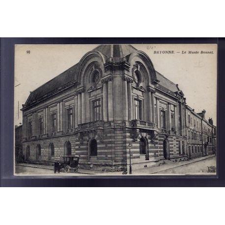 Carte postale 64 - Bayonne - le Musee Bonnat - Non voyage - Dos divise