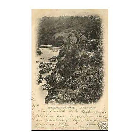 Carte postale 64 - Bayonne - Le pas de Roland