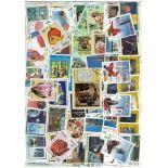 Sammlung gestempelter Briefmarken Kuba