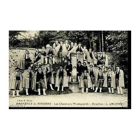 Carte postale 65 - Bagneres de Bigorre - Les chanteurs montagnards