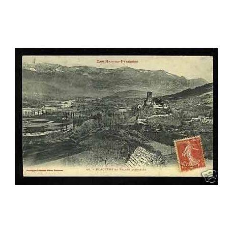 Carte postale 65 - Beaucens et vallee d'Argeles