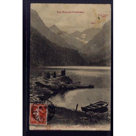 65 - Cauterets - le lac de Gaube et le Vignemale - Voyage - Dos divise