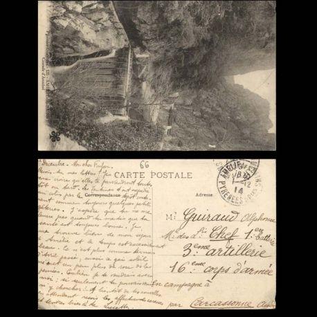 66 - Amelie les bains - Cascade d'Annibal