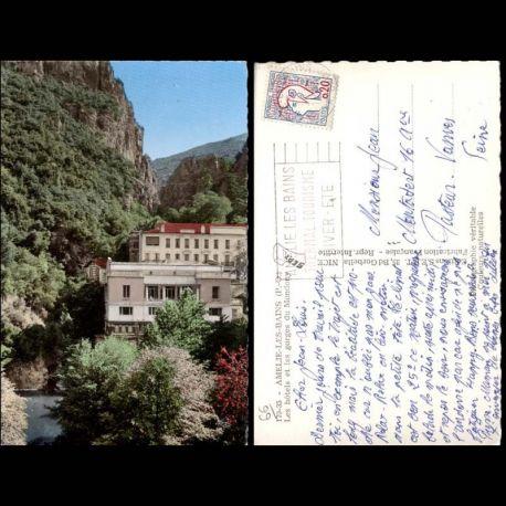 66 - Amelie les bains - Hotel et les gorges du Mondony - CPSM