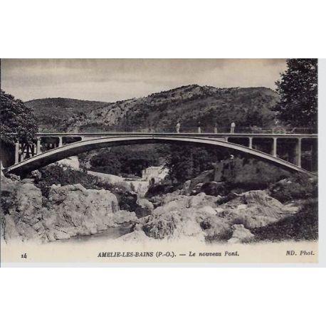 66 - Amelie les Bains - Le nouveau Pont