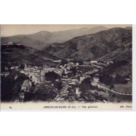 66 - Amelie les Bains - Vue generale 2