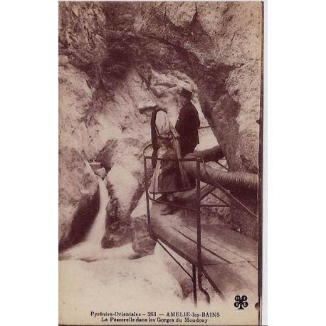 66 - Amelie-les-Bains - La passerelle dans les gorges du Mondony - Non voyage