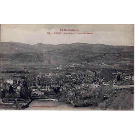 66 - Ceret - Le Roussillon - Vue generale - Non voyage - Dos divise