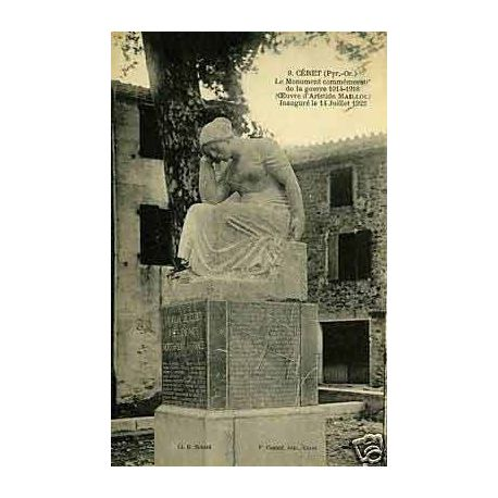66 - Ceret - Monument commemoratif de la guerre 1914