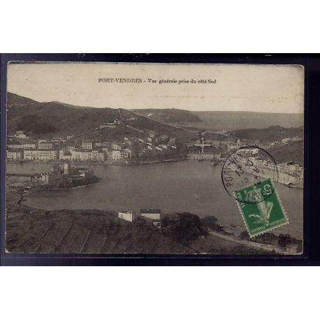 66 - Pont-Vendres - Vue generale prise du cote Sud - Voyage - Dos divise