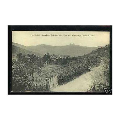 Carte postale 67 - Barr - Hotel des Bains de Ba¼hl