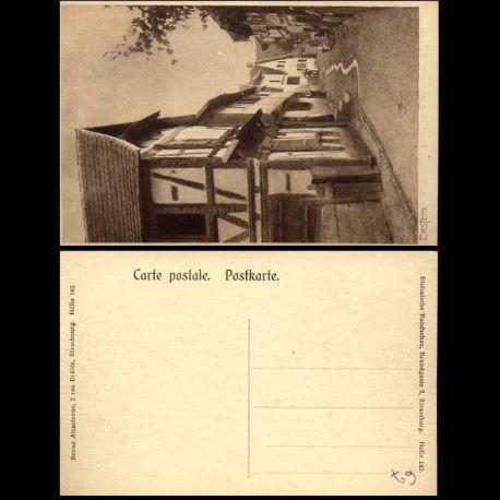 Carte postale 67 - Erstein - Une rue du village