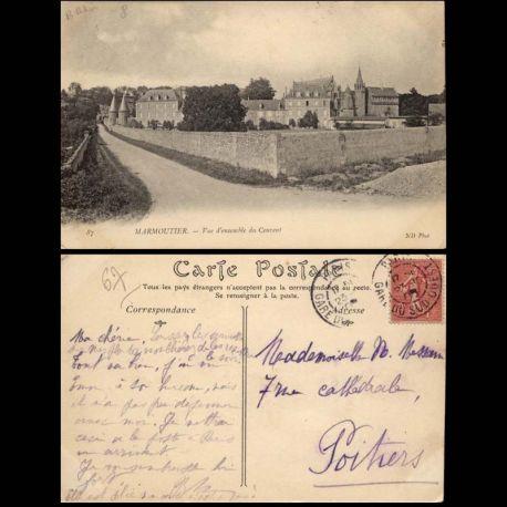 Carte postale 67 - Marmoutier - Vue d'ensemble du couvent