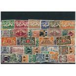 Collezione di francobolli Dantzig usati