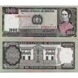 Collezione di banconote Bolivia Pick numero 167 - 1000 Peso 1981