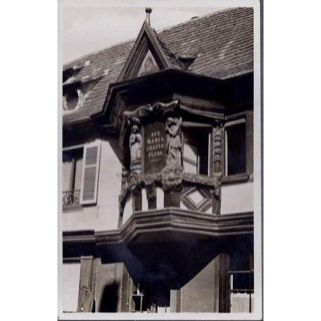 68 - Ribeauville Pfifferhues - Maison des Menetriers - Non voyage - Dos divis