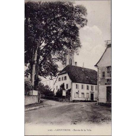 68 - 1197 - Lapoutroie - Entree de la ville - Voyage - Dos divise