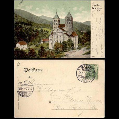 68 - Abtei Murbach i. Els. - Couleur - 1904