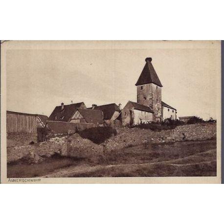 68 - Ammerschwihr - Vue d'un village - Non voyage - Dos divise