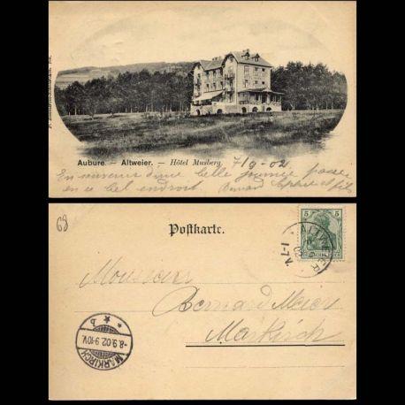 68 - Aubure - Hotel Musberg - 1902