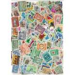 Used stamp collection Dominican