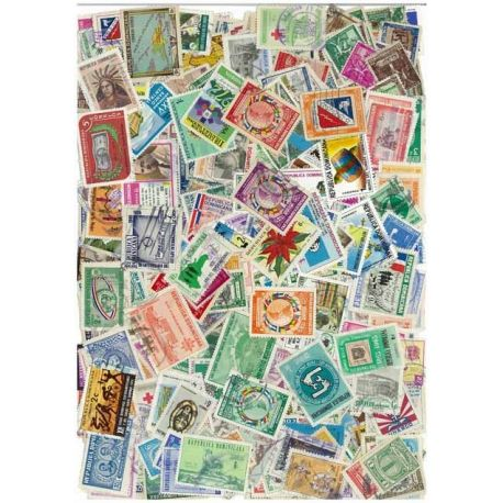 Djibouti - 50 different stamps