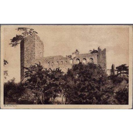 68 - Bernstein - Chateau en ruine - non voyage - Dos divise