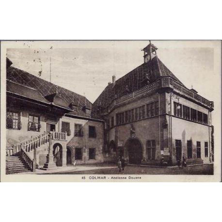 68 - Colmar - Ancienne Douane - voyage - Dos divise