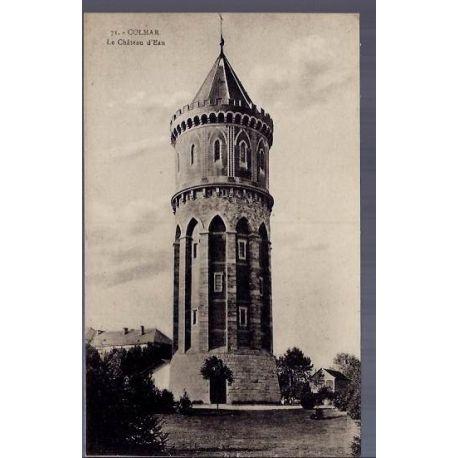 Carte postale 68 - Colmar - Le chateau d\'eau - Non voyage - Dos divise