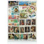 Dubai-Sammlung gestempelter Briefmarken