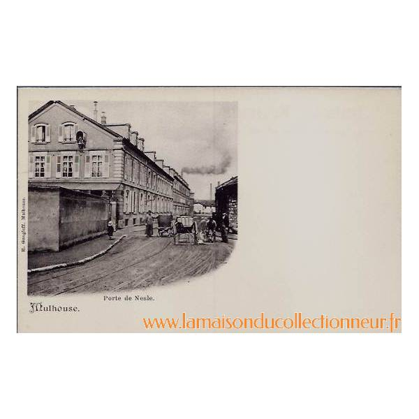 68 mulhouse porte de nesle non voyage dos divise la maison du collectionneur - Mulhouse habitat porte du miroir ...