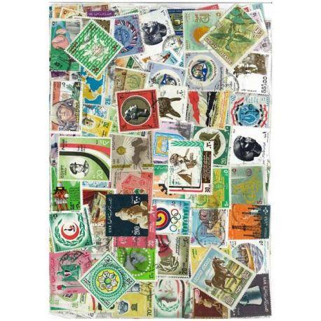 Collection de timbres Egypte oblitérés