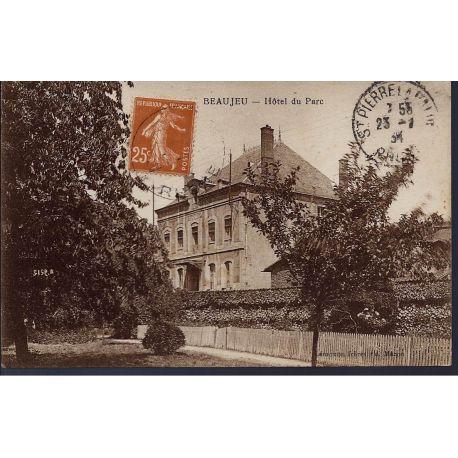 Carte postale 69 - Beaujeu - Hotel du parc