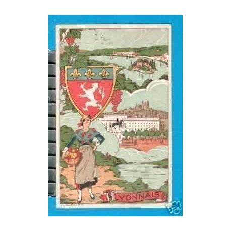 Carte postale 69 - LE LYONNAIS ILLUSTRE PAR ???