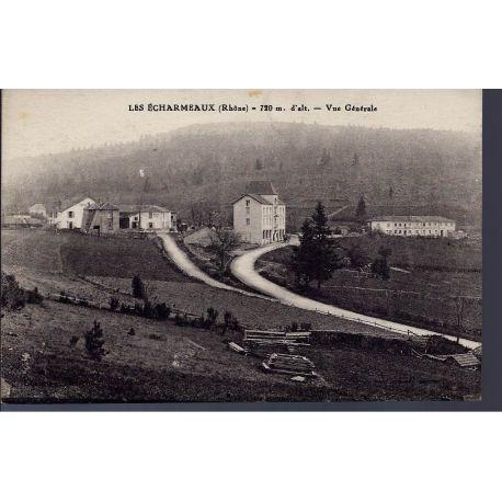 Carte postale 69 - Les Echarmeaux - Vue generale