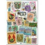 Stamp collection used United Arab Emirates