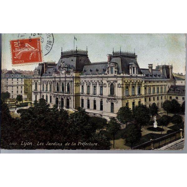 69 lyon les jardins de la prefecture - Jardin villemanzy lyon lyon ...