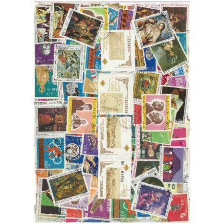 Ecuador - 50 verschiedene Briefmarken