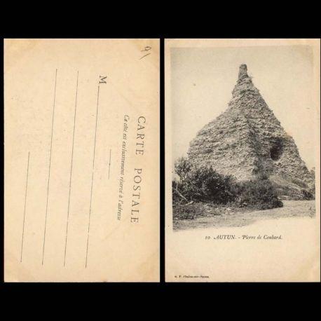 Carte postale 71 - Autun - Pierre de couhard