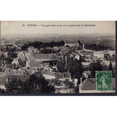 Carte postale 71 - Autun - Vue generale prise de la cathedrale