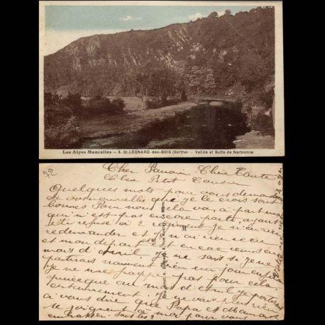 72 - Alpes Mancelles - Saint Leonard des Bois - Vallee et butte de Narbonne