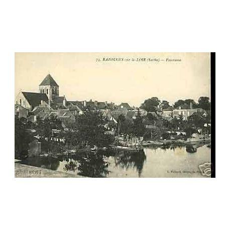 72 - Bazouches sur le Loir - Panorama